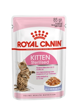 Royal Canin Киттен Стерилайзд в желе
