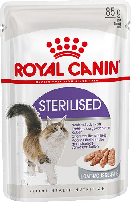 Royal Canin Sterilised паштет (пауч)